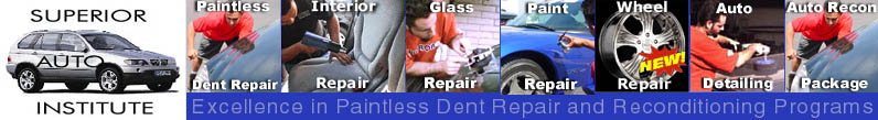 Paintless Dent Repair Training