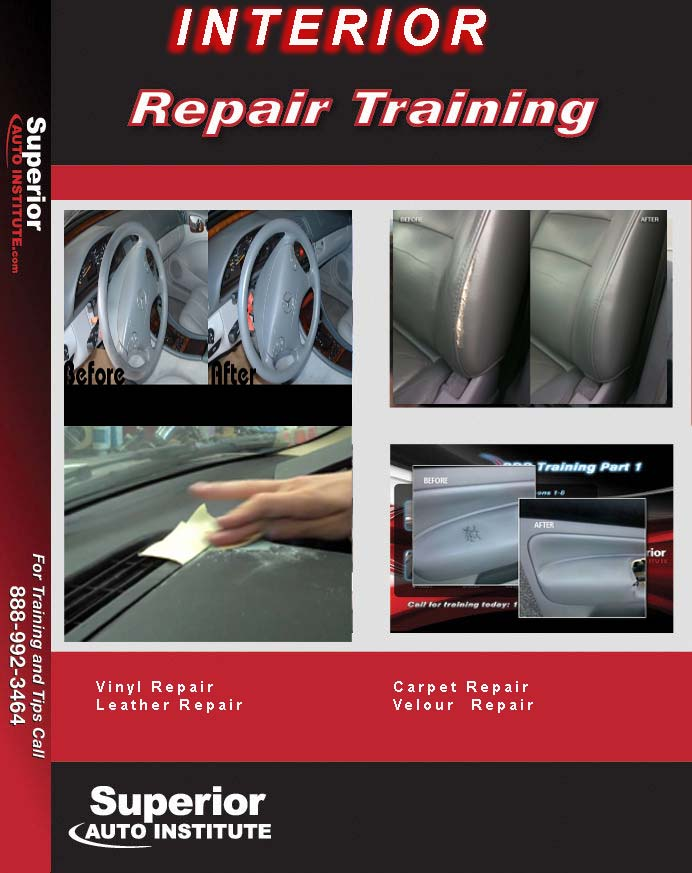 interior repair DVD Training