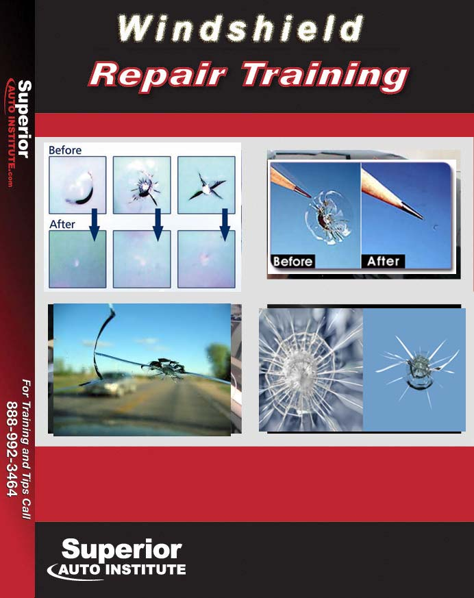 windshield  repair DVD Training